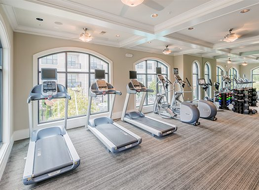 Bell Vinings apartments gym